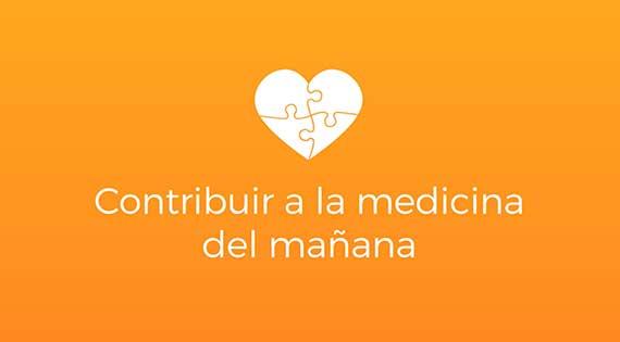 Nuevo nombre Misma misión: ¡contribuir a la medicina del mañana!